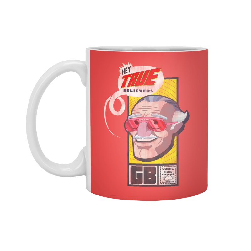 True Believer - Fearless Flavor Accessories Standard Mug by Gamma Bomb - Explosively Mutating Your Look