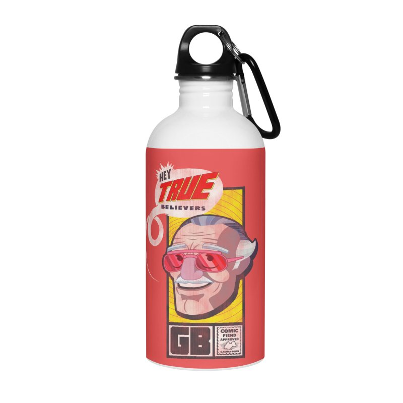 True Believer - Fearless Flavor Accessories Water Bottle by Gamma Bomb - Explosively Mutating Your Look