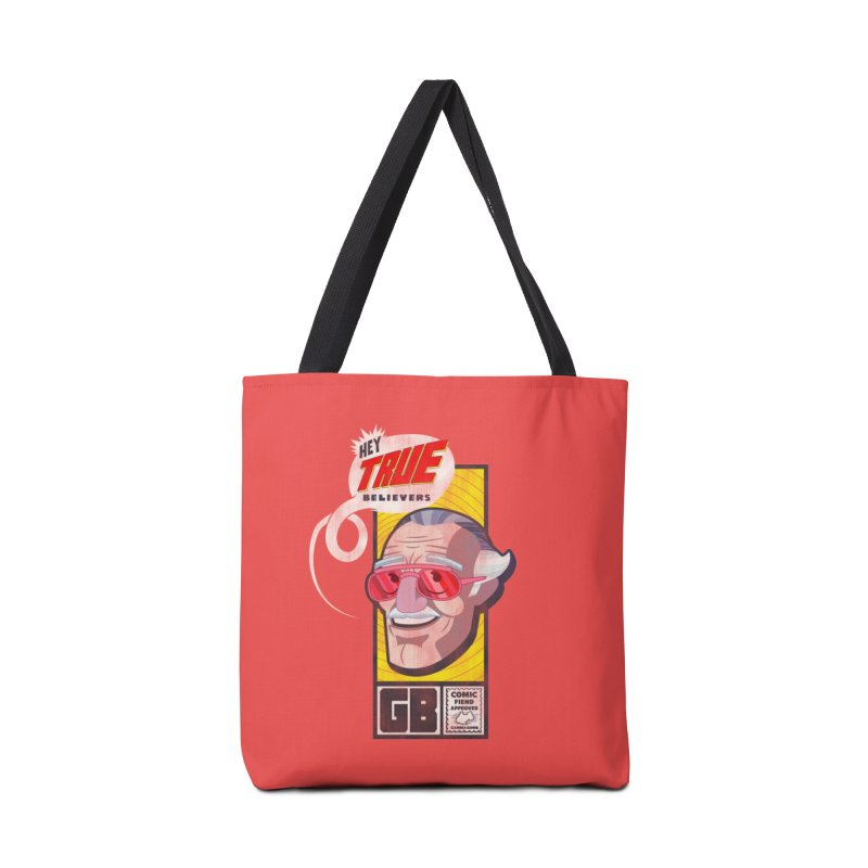 True Believer - Fearless Flavor Accessories Tote Bag Bag by Gamma Bomb - Explosively Mutating Your Look