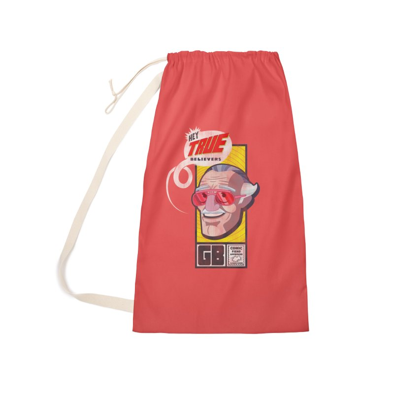 True Believer - Fearless Flavor Accessories Laundry Bag Bag by Gamma Bomb - Explosively Mutating Your Look