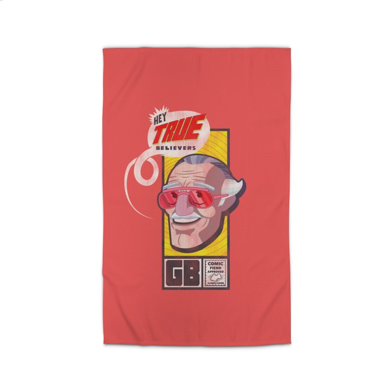 True Believer - Fearless Flavor Home Rug by Gamma Bomb - Explosively Mutating Your Look