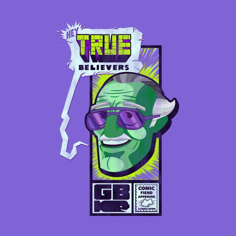 True Believer - Incredible Flavor Home Tapestry by Gamma Bomb - Explosively Mutating Your Look