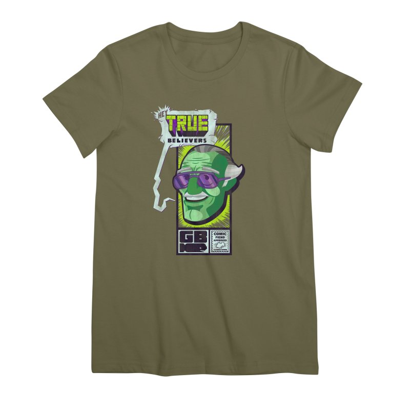 True Believer - Incredible Flavor Women's Premium T-Shirt by Gamma Bomb - Explosively Mutating Your Look