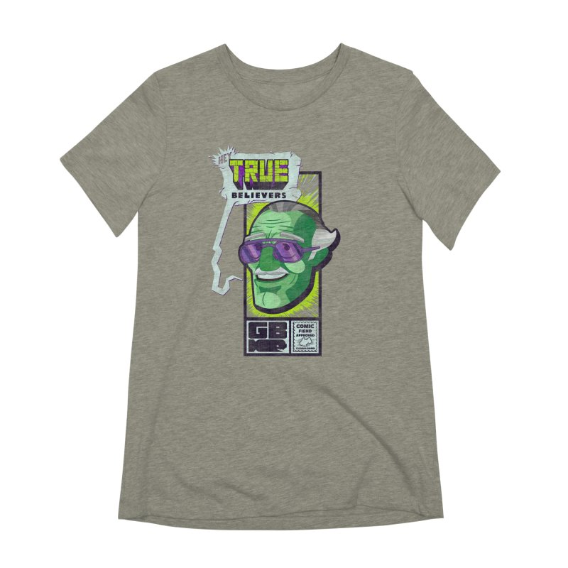 True Believer - Incredible Flavor Women's Extra Soft T-Shirt by Gamma Bomb - Explosively Mutating Your Look