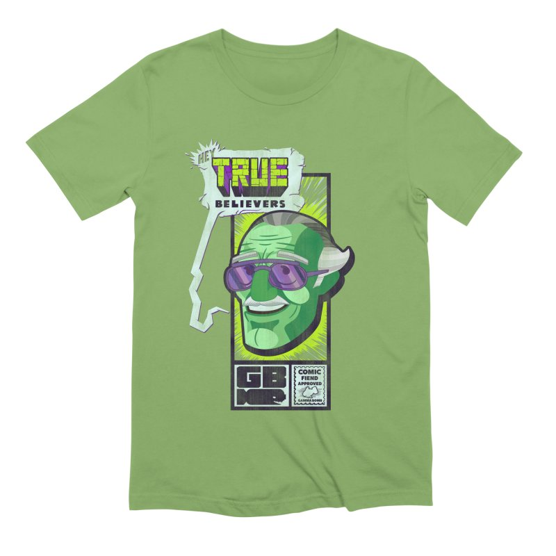True Believer - Incredible Flavor Men's Extra Soft T-Shirt by Gamma Bomb - Explosively Mutating Your Look