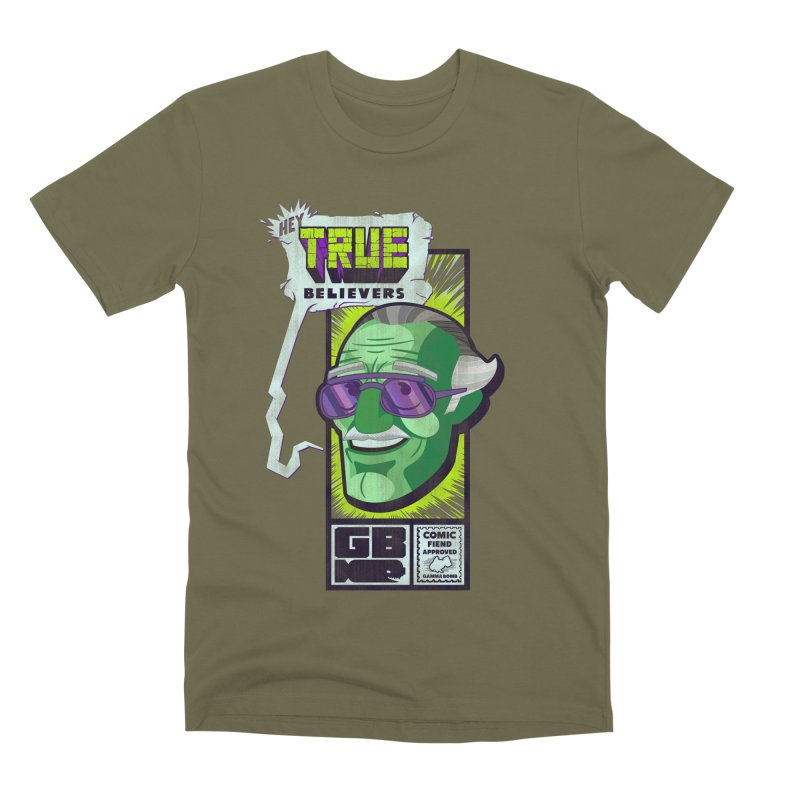 True Believer - Incredible Flavor Men's Premium T-Shirt by Gamma Bomb - Explosively Mutating Your Look