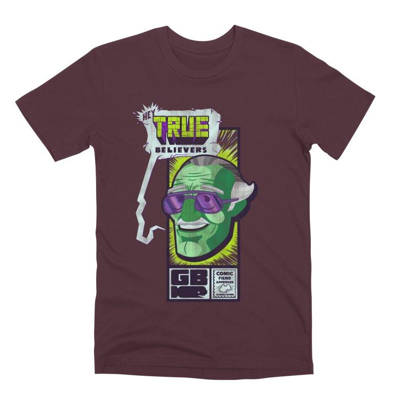 True Believer - Incredible Flavor Men's Premium T-Shirt by Gamma Bomb - Explosively Mutating Your Look