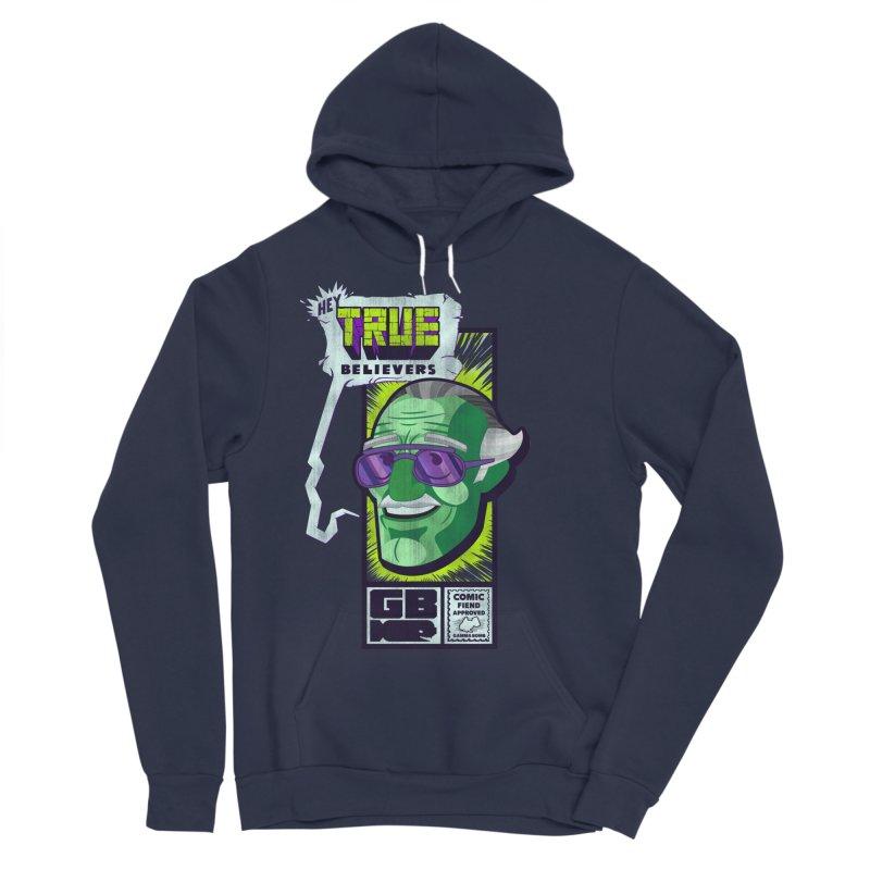 True Believer - Incredible Flavor Men's Sponge Fleece Pullover Hoody by Gamma Bomb - Explosively Mutating Your Look