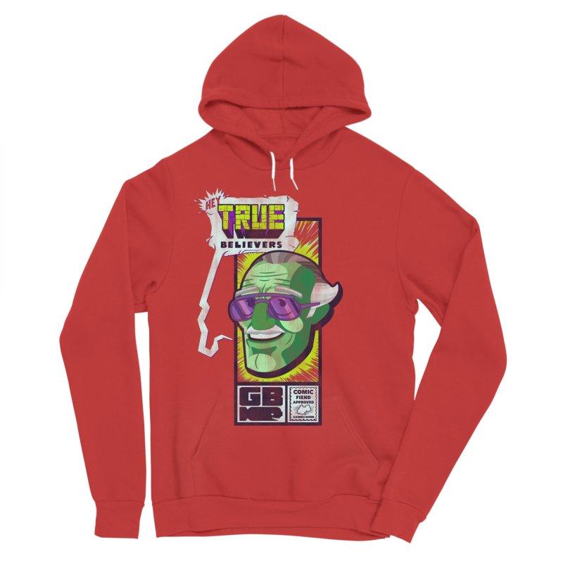 True Believer - Incredible Flavor Women's Sponge Fleece Pullover Hoody by Gamma Bomb - Explosively Mutating Your Look