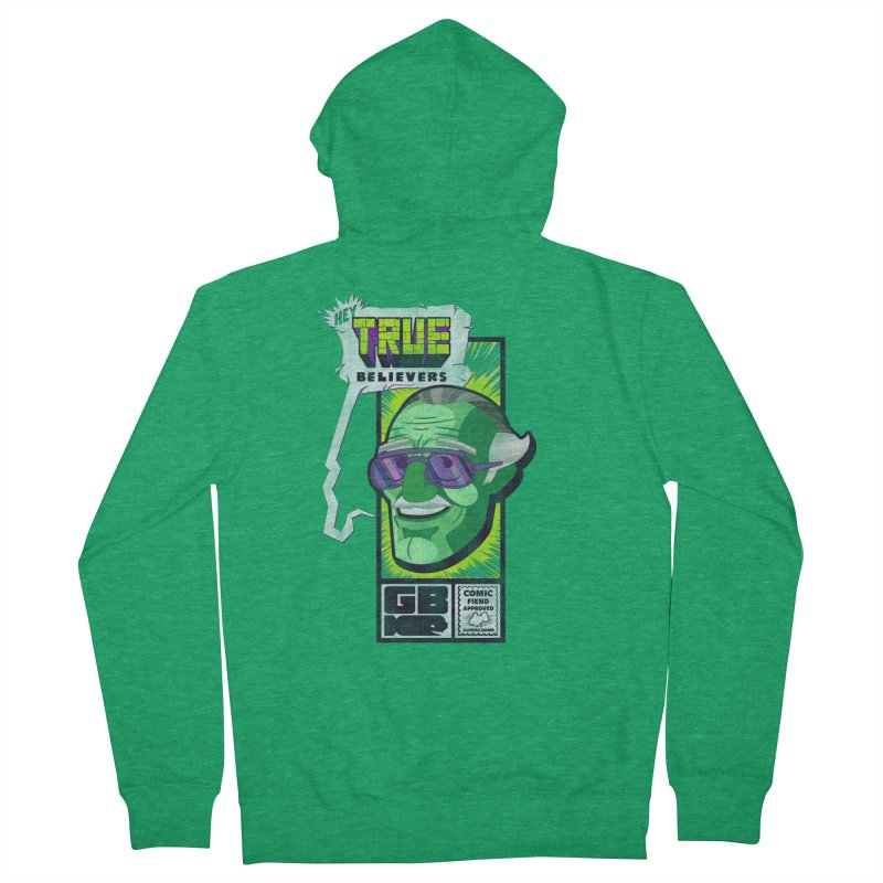 True Believer - Incredible Flavor Women's Zip-Up Hoody by Gamma Bomb - Explosively Mutating Your Look