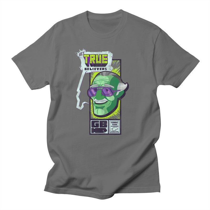 True Believer - Incredible Flavor Men's T-Shirt by Gamma Bomb - Explosively Mutating Your Look