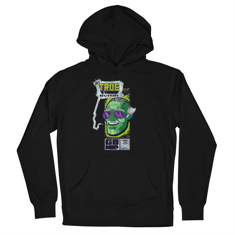 True Believer - Incredible Flavor Men's French Terry Pullover Hoody by Gamma Bomb - Explosively Mutating Your Look
