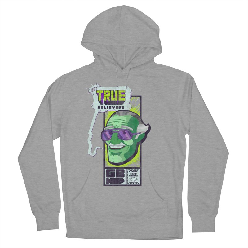 True Believer - Incredible Flavor Women's Pullover Hoody by Gamma Bomb - Explosively Mutating Your Look