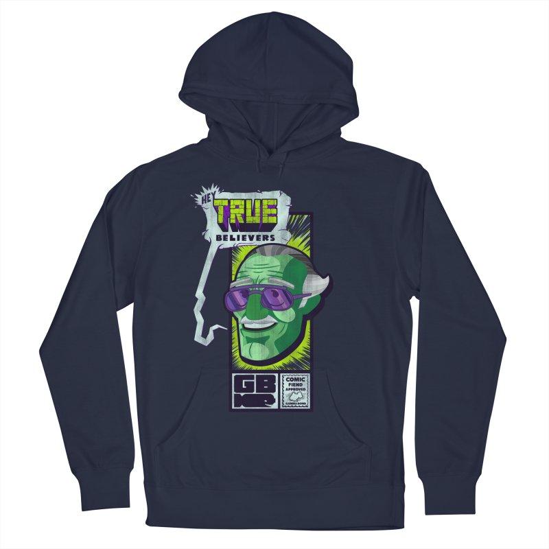 True Believer - Incredible Flavor Men's Pullover Hoody by Gamma Bomb - Explosively Mutating Your Look