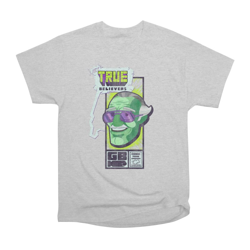True Believer - Incredible Flavor Men's Heavyweight T-Shirt by Gamma Bomb - Explosively Mutating Your Look