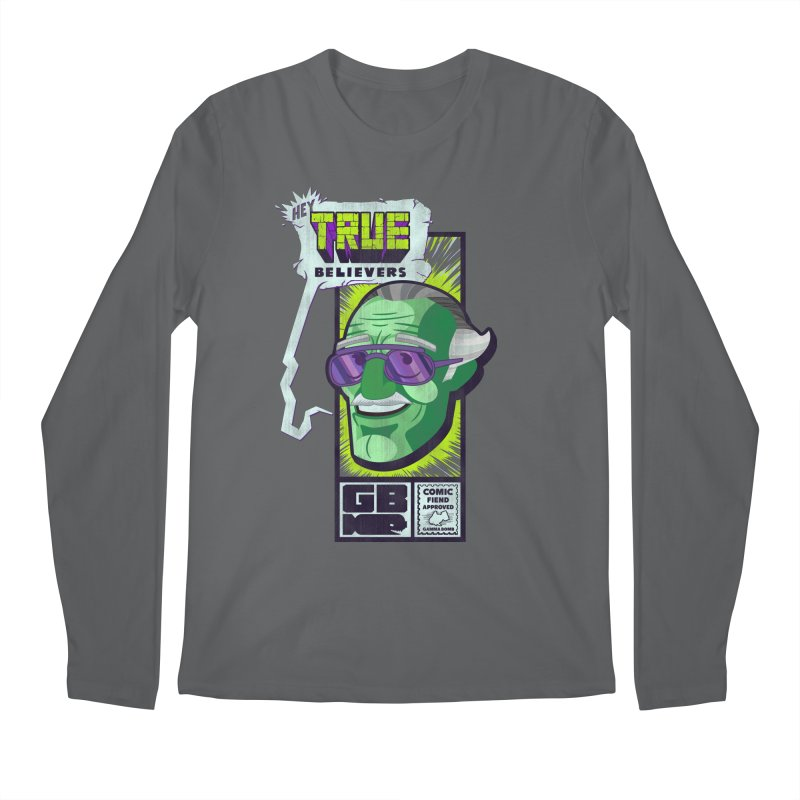 True Believer - Incredible Flavor Men's Longsleeve T-Shirt by Gamma Bomb - Explosively Mutating Your Look