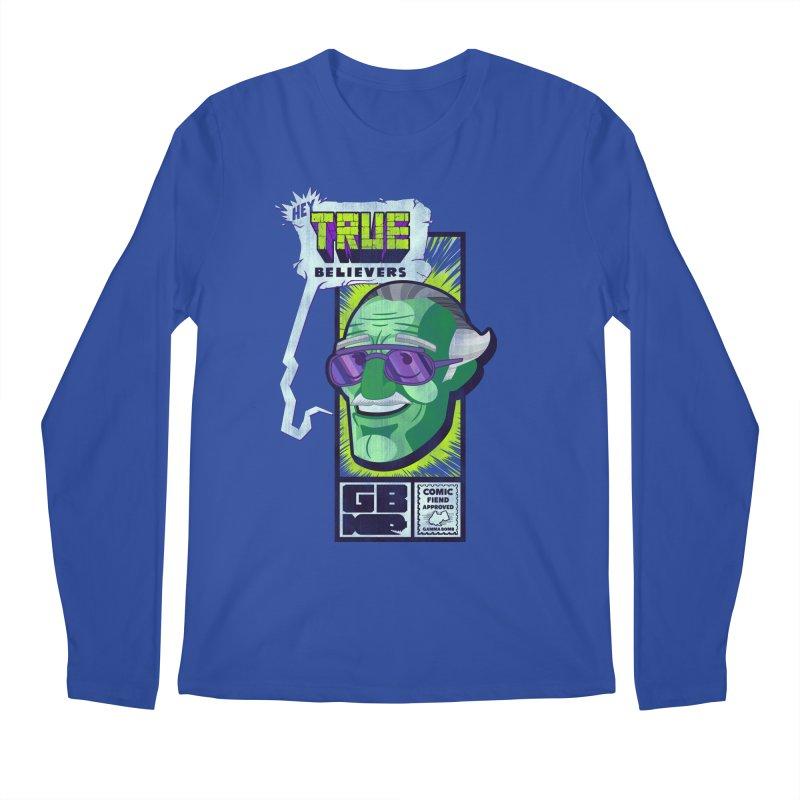 True Believer - Incredible Flavor Men's Regular Longsleeve T-Shirt by Gamma Bomb - Explosively Mutating Your Look