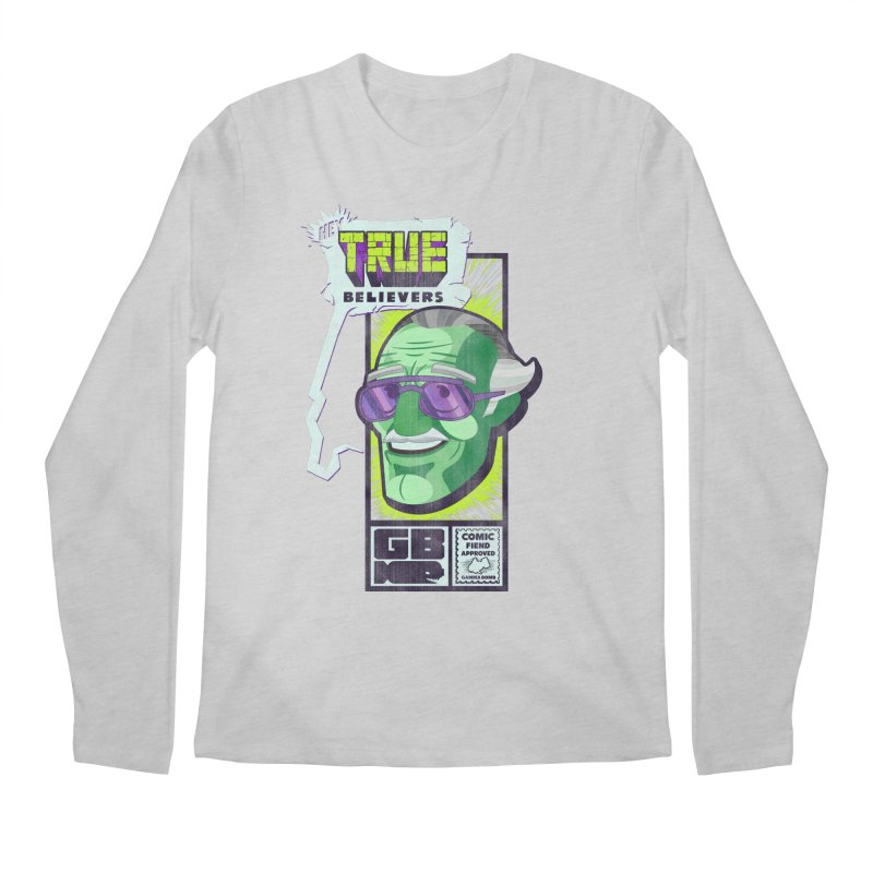 True Believer - Incredible Flavor Men's Regular Longsleeve T-Shirt by Gamma Bomb - Explosively Mutating Your Look