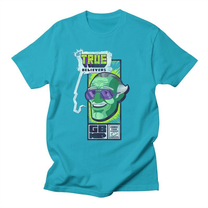 True Believer - Incredible Flavor Men's Regular T-Shirt by Gamma Bomb - Explosively Mutating Your Look