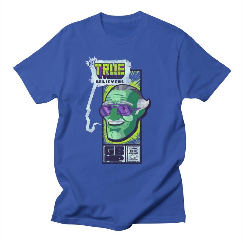 True Believer - Incredible Flavor Women's Regular Unisex T-Shirt by Gamma Bomb - Explosively Mutating Your Look