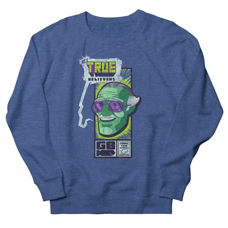 True Believer - Incredible Flavor Men's French Terry Sweatshirt by Gamma Bomb - Explosively Mutating Your Look