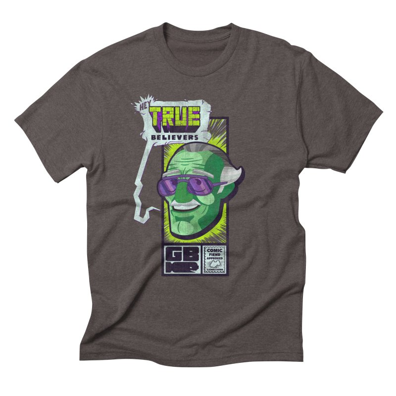 True Believer - Incredible Flavor Men's Triblend T-Shirt by Gamma Bomb - Explosively Mutating Your Look