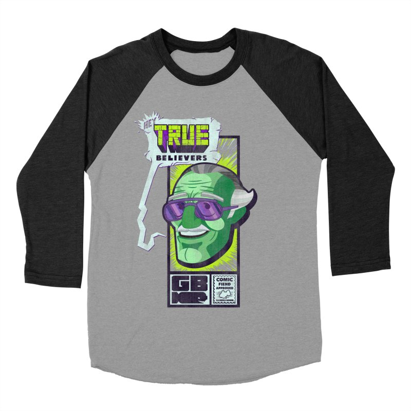 True Believer - Incredible Flavor Women's Baseball Triblend Longsleeve T-Shirt by Gamma Bomb - Explosively Mutating Your Look