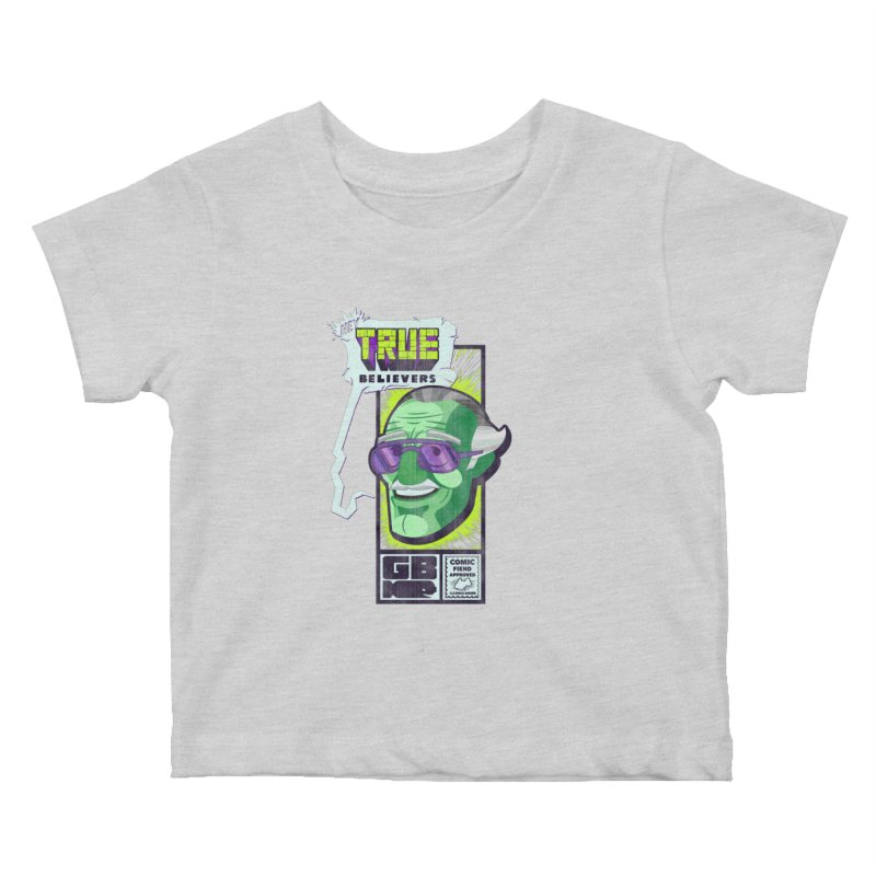 True Believer - Incredible Flavor Kids Baby T-Shirt by Gamma Bomb - Explosively Mutating Your Look