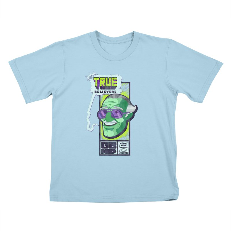 True Believer - Incredible Flavor Kids T-Shirt by Gamma Bomb - Explosively Mutating Your Look