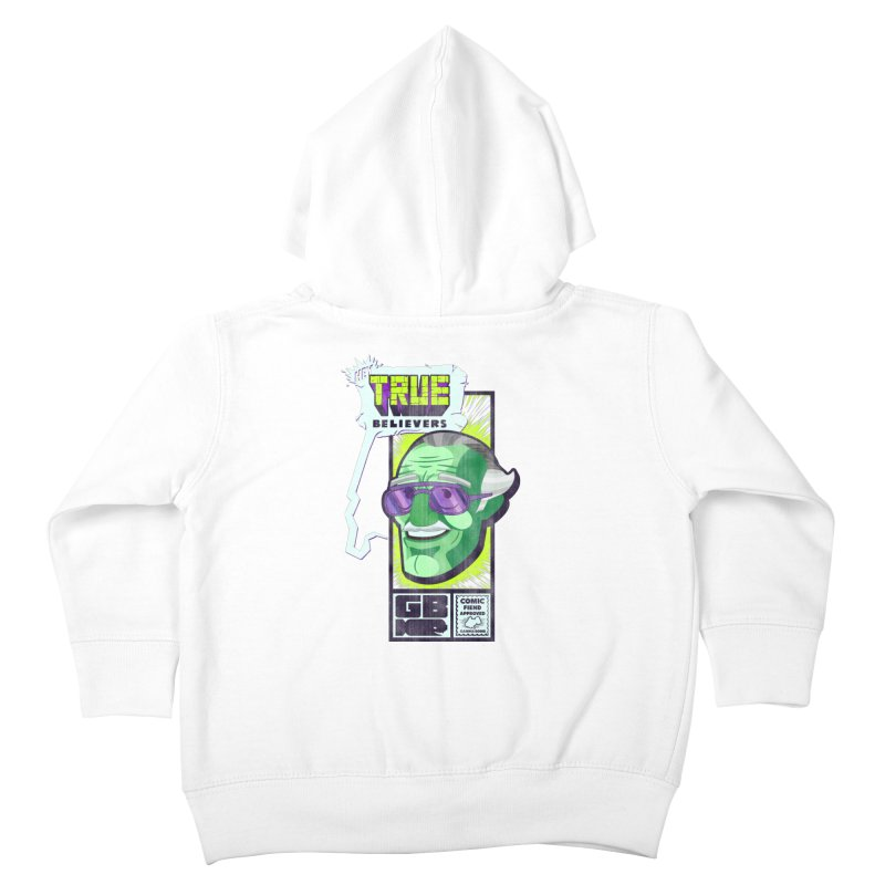 True Believer - Incredible Flavor Kids Toddler Zip-Up Hoody by Gamma Bomb - Explosively Mutating Your Look