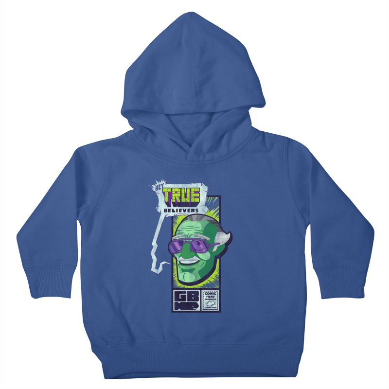 True Believer - Incredible Flavor Kids Toddler Pullover Hoody by Gamma Bomb - Explosively Mutating Your Look
