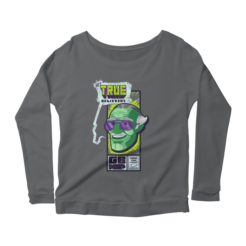 True Believer - Incredible Flavor Women's Longsleeve T-Shirt by Gamma Bomb - Explosively Mutating Your Look