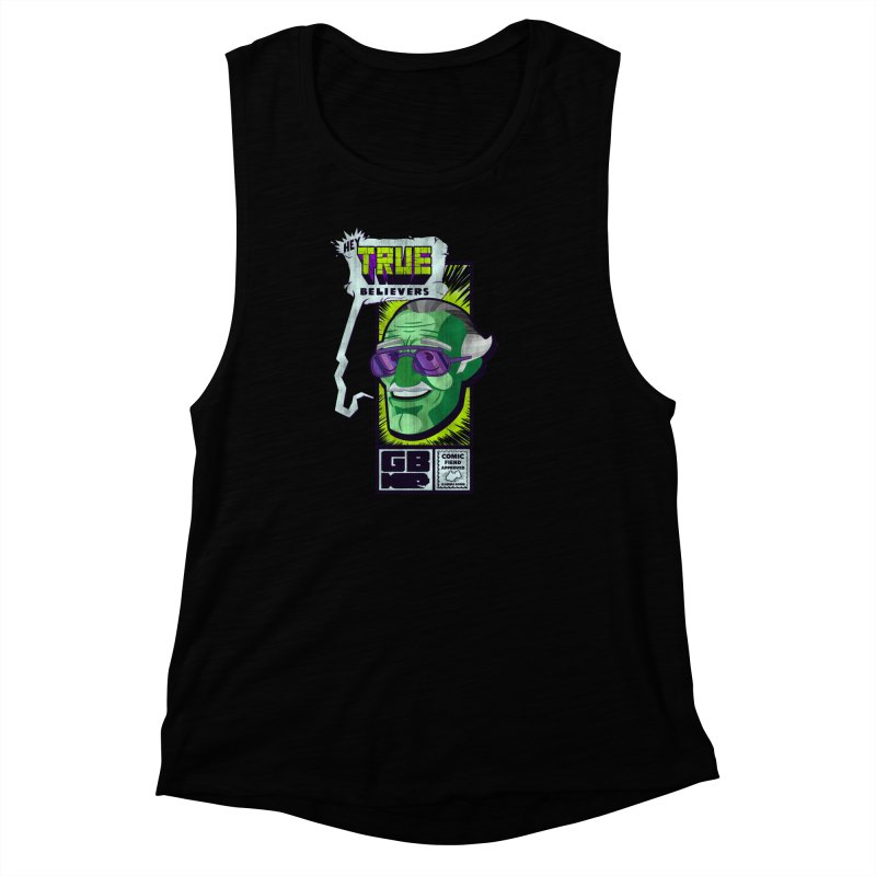 True Believer - Incredible Flavor Women's Muscle Tank by Gamma Bomb - Explosively Mutating Your Look