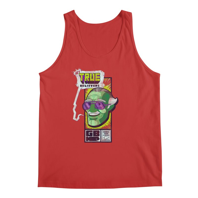 True Believer - Incredible Flavor Men's Regular Tank by Gamma Bomb - Explosively Mutating Your Look