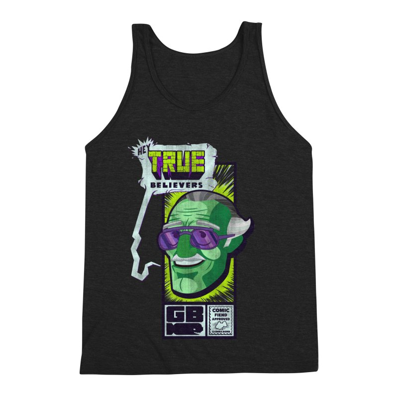 True Believer - Incredible Flavor Men's Triblend Tank by Gamma Bomb - Explosively Mutating Your Look