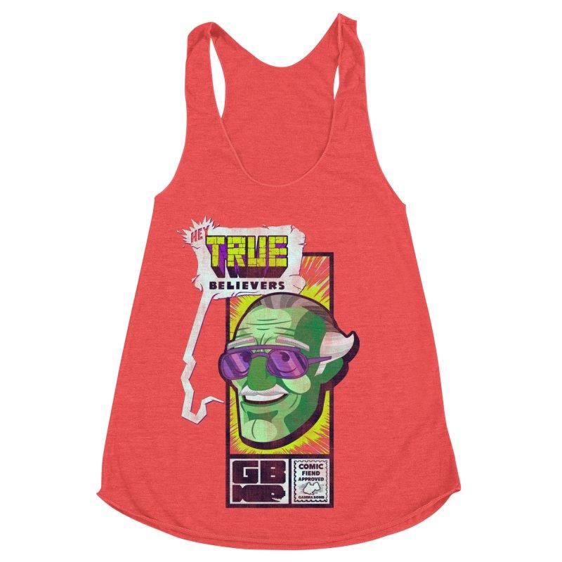 True Believer - Incredible Flavor Women's Tank by Gamma Bomb - Explosively Mutating Your Look