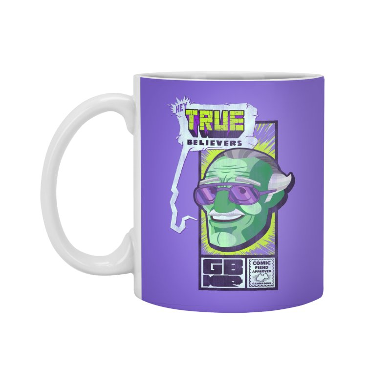 True Believer - Incredible Flavor Accessories Standard Mug by Gamma Bomb - Explosively Mutating Your Look