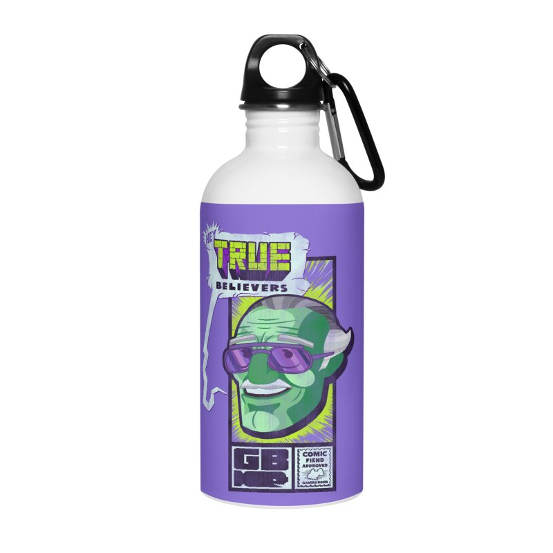 True Believer - Incredible Flavor Accessories Water Bottle by Gamma Bomb - Explosively Mutating Your Look