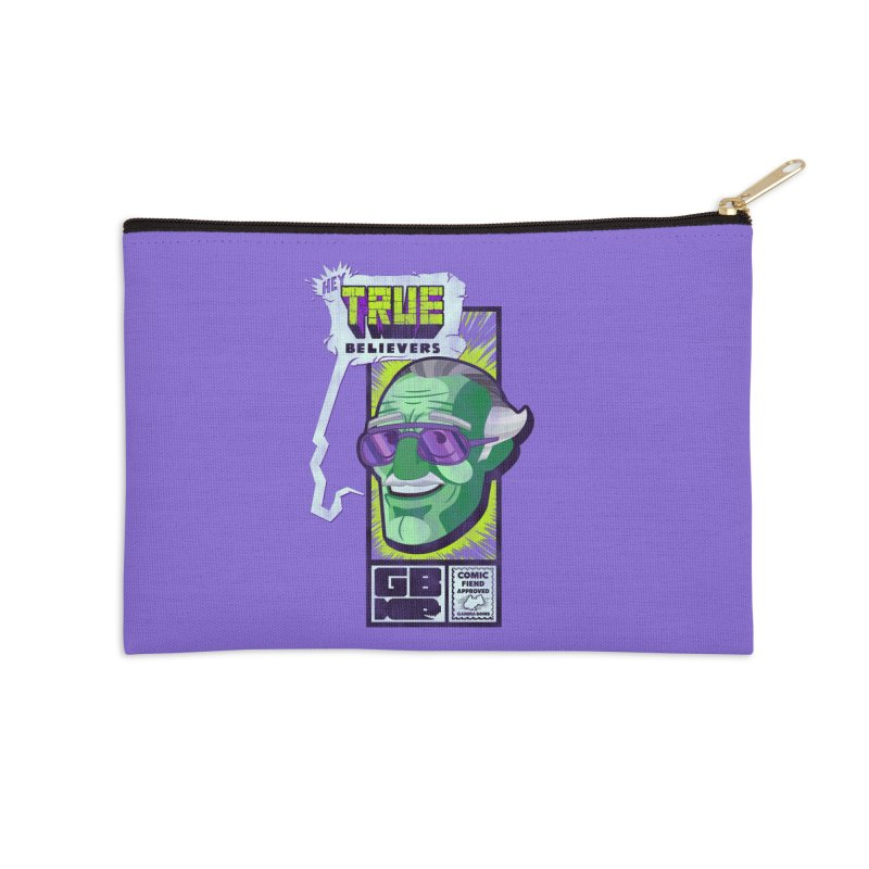 True Believer - Incredible Flavor Accessories Zip Pouch by Gamma Bomb - Explosively Mutating Your Look