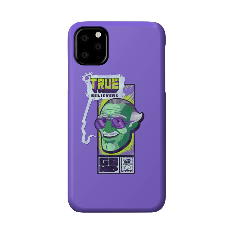 True Believer - Incredible Flavor Accessories Phone Case by Gamma Bomb - Explosively Mutating Your Look