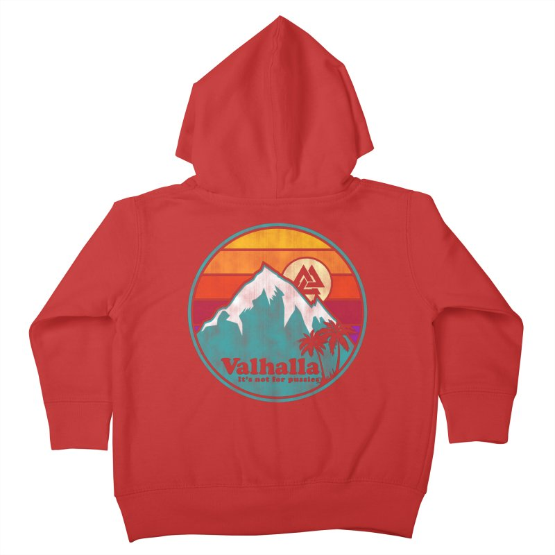 Final Destination Kids Toddler Zip-Up Hoody by Gamma Bomb - Explosively Mutating Your Look