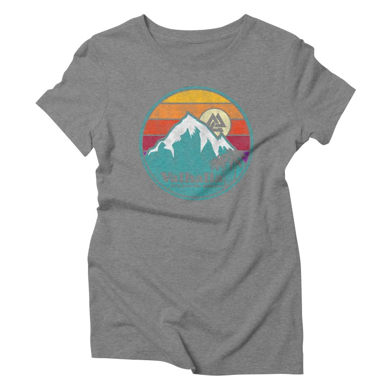 Final Destination Women's Triblend T-Shirt by Gamma Bomb - Explosively Mutating Your Look