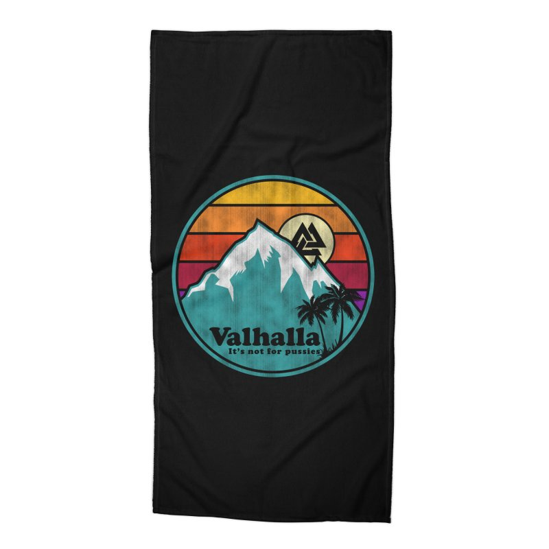 Final Destination Accessories Beach Towel by Gamma Bomb - Explosively Mutating Your Look