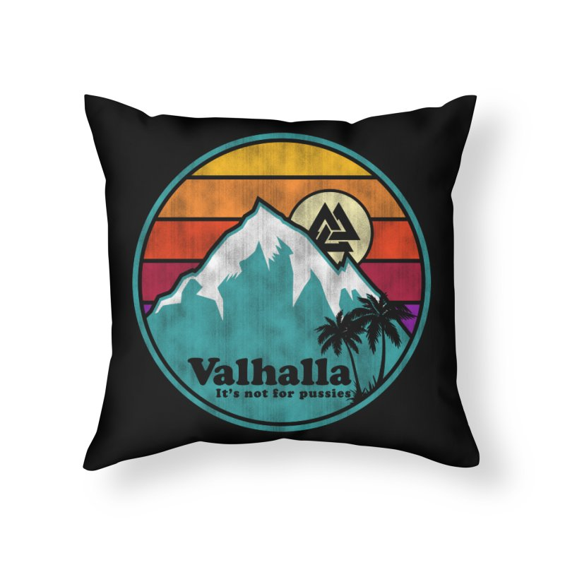 Final Destination Home Throw Pillow by Gamma Bomb - Explosively Mutating Your Look