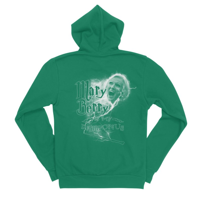 My Patronus Men's Sponge Fleece Zip-Up Hoody by Gamma Bomb - Explosively Mutating Your Look