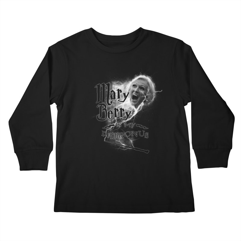 My Patronus Kids Longsleeve T-Shirt by Gamma Bomb - Explosively Mutating Your Look