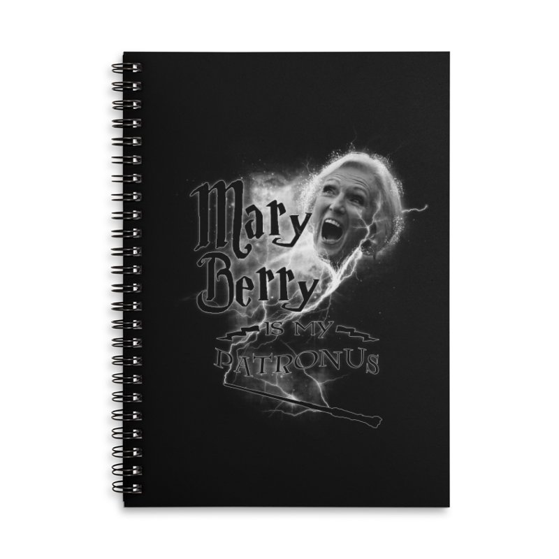 My Patronus Accessories Lined Spiral Notebook by Gamma Bomb - Explosively Mutating Your Look
