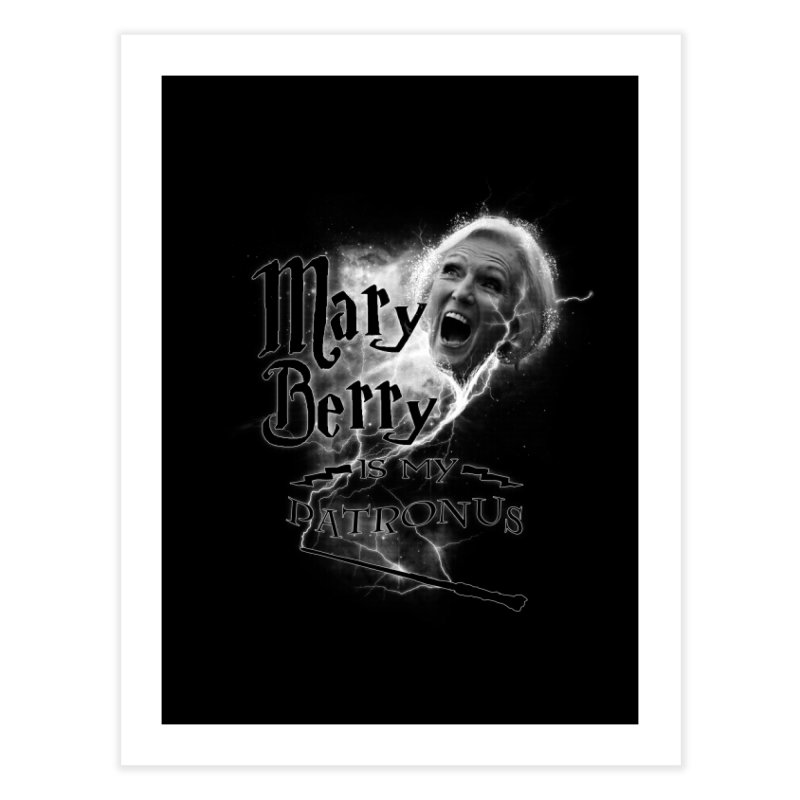 My Patronus Home Fine Art Print by Gamma Bomb - Explosively Mutating Your Look