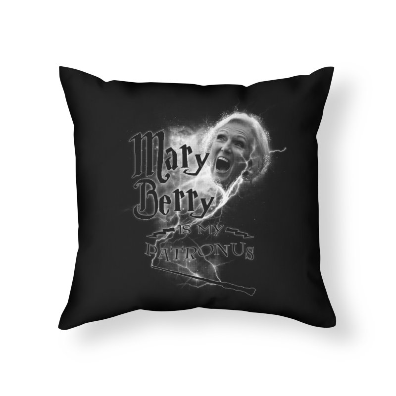 My Patronus Home Throw Pillow by Gamma Bomb - Explosively Mutating Your Look