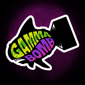 Gamma Bomb - Explosively Mutating Your Look Logo